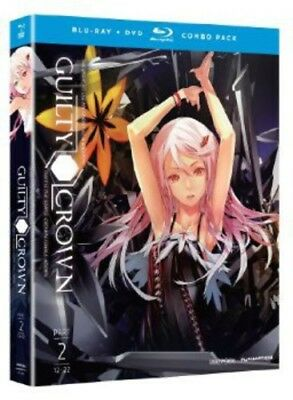 Guilty Crown: Part 2 [4 Discs] [Blu-ray/DVD] (Blu-ray Used Like New) BLU-RAY/WS