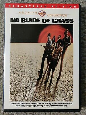No Blade of Grass Movie POSTER 27 x 40 Nigel Davenport Jean Wallace A USA NEW