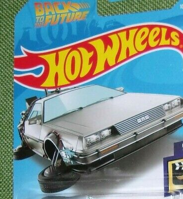 "2019 2016 2015 Hot Wheels  Back to the Future Delorean Hover Mode ""You Pick"""