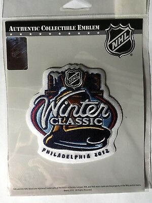 Nhl 2012 Winter Classic Patch