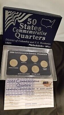 """Lot Of 3 Sets Of """"50 States Commemorative Quarters"""" Gold  ~ 3 EDITIONS"""