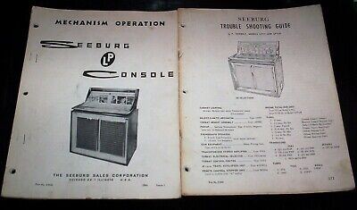 SEEBURG MODELS LPC1 and LPC1R Jukebox Manuals