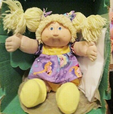 RARE SMALL BLUE Eyes Dimples! 16 Freckles! Blonde CPK Doll! New Princess  Set! BC