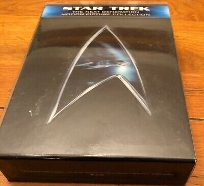 Star Trek: The Next Generation - Motion Picture Collection Blu-ray, 2009, Used
