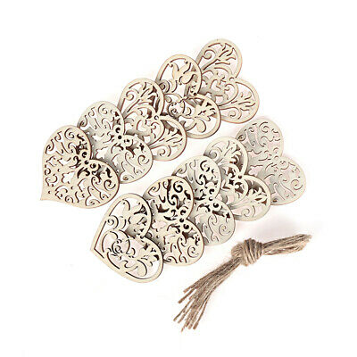 Home Decoration Wood DIY Crafts Wooden Slice Hanging Ornaments  Wood Pieces