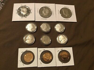 12 Coin Proof Lot