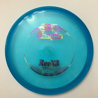 Brand New Innova Champion RocX3 - Disc Golf Mid-Range Disc - Blue - 180g