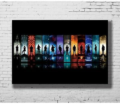 24x36 14x21 Poster Doctor Who BBC Space Travel Season 8 Hot TV Show Pop P-1679