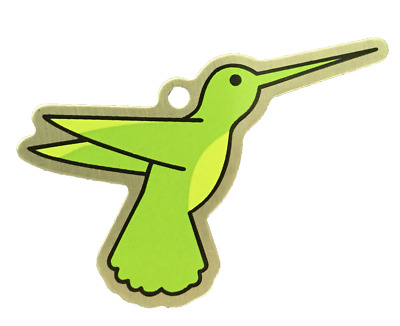 Hover the Hummingbird Cache Buddy - Trackable for Geocaching