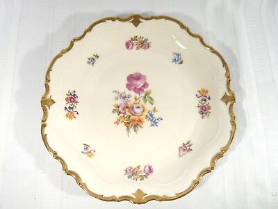Large Reichenbach China Charger PLatter MINT 13 inches