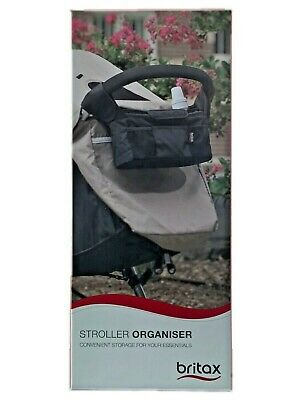 Britax Stroller Organiser - Two Insulated Beverage Holders - Fits Most Strollers