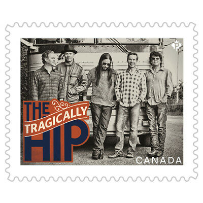 """The iconic Rock band """"Tragically hip"""". MNH**"""