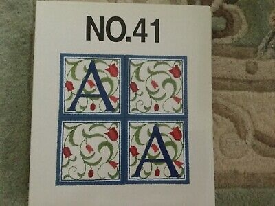 Brother machine embroidery card. #41