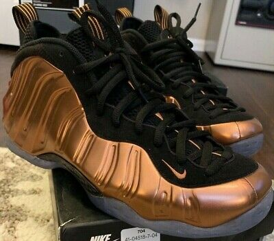 purchase cheap 4cee7 81371 NIKE AIR FOAMPOSITE One Men's Metallic Copper Shoes Size 11