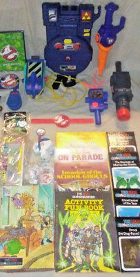 Real Ghostbusters Mega Bundle Lot 4 Children w/ Pack Trap Meter & So Much More!