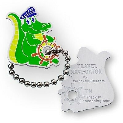 Navi-Gator Travel Tag - Trackable for Geocaching