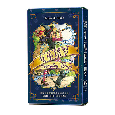 78 Everyday Witch Tarot cards Tarot deck Chinese ver. Set Fortune Telling Cards