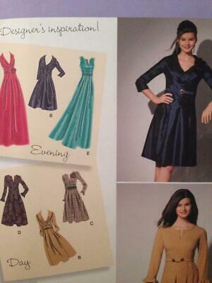 Simplicity Sewing Pattern 2338 Misses Womens Dresses Dress Size 20W-28W Uncut