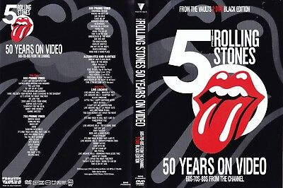 The Rolling Stones. 50 Years On Black Edition. 2 Dvd.