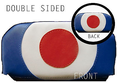 DBL Sided Target Scooter Back Rest Cover (Purse Style)