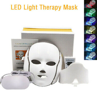 Derma-Light- Professional LED Light Therapy Mask Skin Care Anti Aging Acne 2019