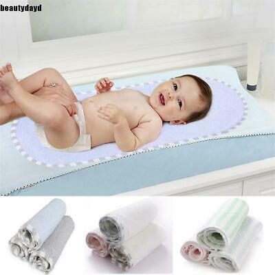 Infant Baby Reusable Washable Waterproof Changing Pad Liners BD6D