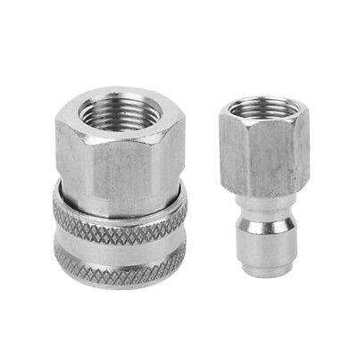 Stainless Steel 3/8 Male and Female Adaptor Pressure Washer Hose Connector