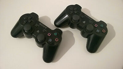 2x SONY PS 3 Wireless Controller 2. Wahl original Playstation Gamepad Sxiaxis DS