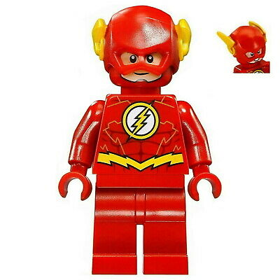 LEGO THE FLASH MINIFIGURE Justice League Super Hero 76098 Exclusive FLASH SALE