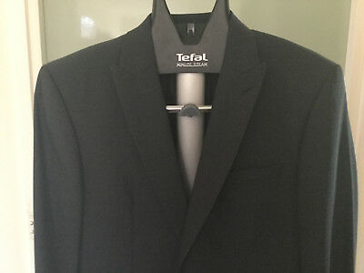 Simon Carter West End blue suit - size 42L - luxury brand at an eBay price!