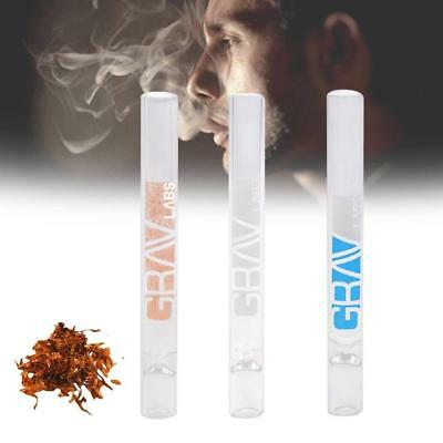 Steamroller Pipe Mini Glass Smoking Pipe Clear Glass Feet.Tobacco-105*7mm