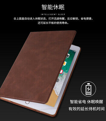 """For Apple iPad 5/6th Generation 2018 2017 9.7"""" Smart Leather Magnetic Case Cover"""