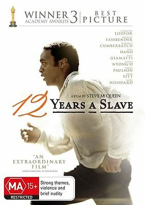 12 Years A Slave DVD : NEW