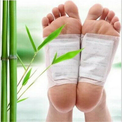 1/5/10 Pairs Detox Foot Pads Body Toxin Slimming Cleansing Herbal Adhesive Patch