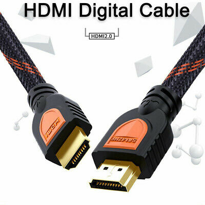 New 4K/60Hz 18Gbps 3840x2160 HDMI to HDMI 2.0 Cable HDR 3D Support for Laptop TV