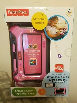 Fisher-Price Create & Learn Apptivity Case (Pink) - For Use with iPhone 5,..