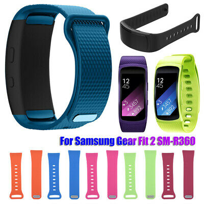 Wristband Bracelet Strap Silicone Watch band For Samsung Gear Fit 2 SM-R360