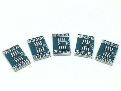 5x Breakout Board für SO-8 | Adapter Platine,SOP,SOIC,SOT,DIL,SMD