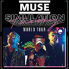 Muse Simulation Theory Tour, Roma 20/07/2019 x 2 Tickets FACE VALUE