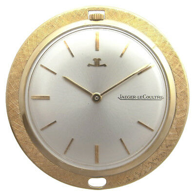 JAEGER LeCoultre Pocket Watch 750 K18 YG Yellow Gold Used Antique Rare