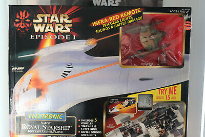Naboo Royal Starship Star Wars The Episode 1 Collection 1999
