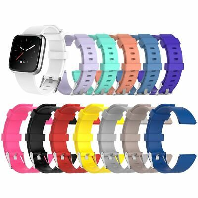 Replacement Soft Silicone Watch Wrist Band Strap For Fitbit Versa Lite Wristband