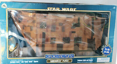 Sandcrawler Jawa Droid Factory Playset Star Wars The Disney Collection 2018