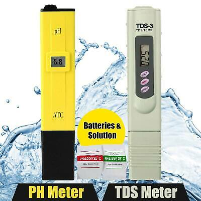 3 in 1 pH//TDS//TEMP Digital Meter Drinking Water Quality Monitor Tester Y5N1