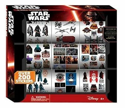 Disney Star wars Episode 7 VII (The Force Awakens ) 9 Roll Sticker Box