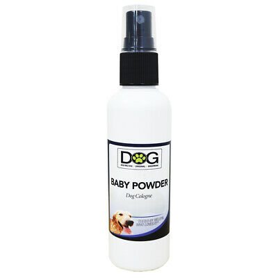 100ml Baby Powder Dog Spray Cologne - Grooming Spray - Deodorant Pet Perfume