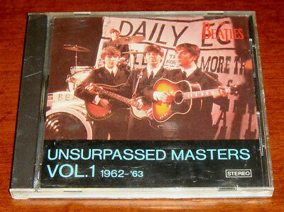 RARE CD!!! The Beatles-Unsurpassed Masters Vol.1 1962-1963 Outtakes and LIVE
