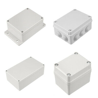 Kind of Sizes Electronic Plastic DIY Junction Box Enclosure Project Case Gray
