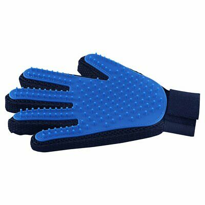 Pet Hair Remover Glove Gentle Pet Grooming Brush Massage for Dog Cats Right Hand