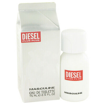 DIESEL PLUS PLUS MASCULINE 75ml EDT SPRAY FOR MEN BY DIESEL ---- NEW EDT PERFUME